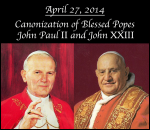 Popes-Canonization
