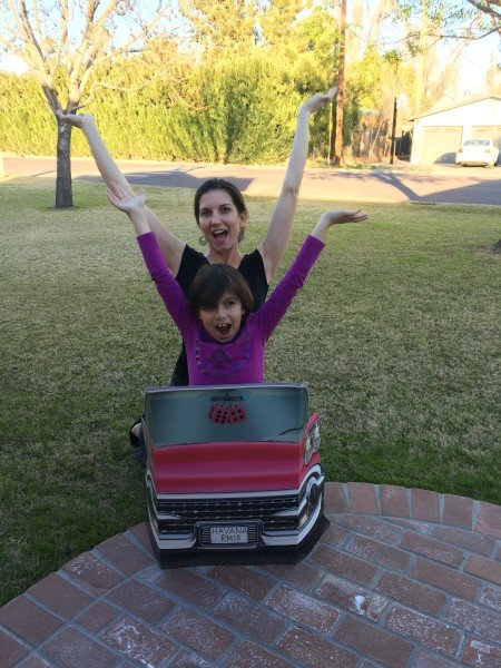Brooke Martinez & her Mom Natalie Pass the Car!!