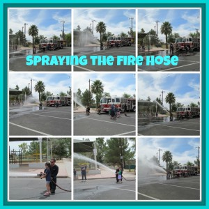 Spraying the firehose
