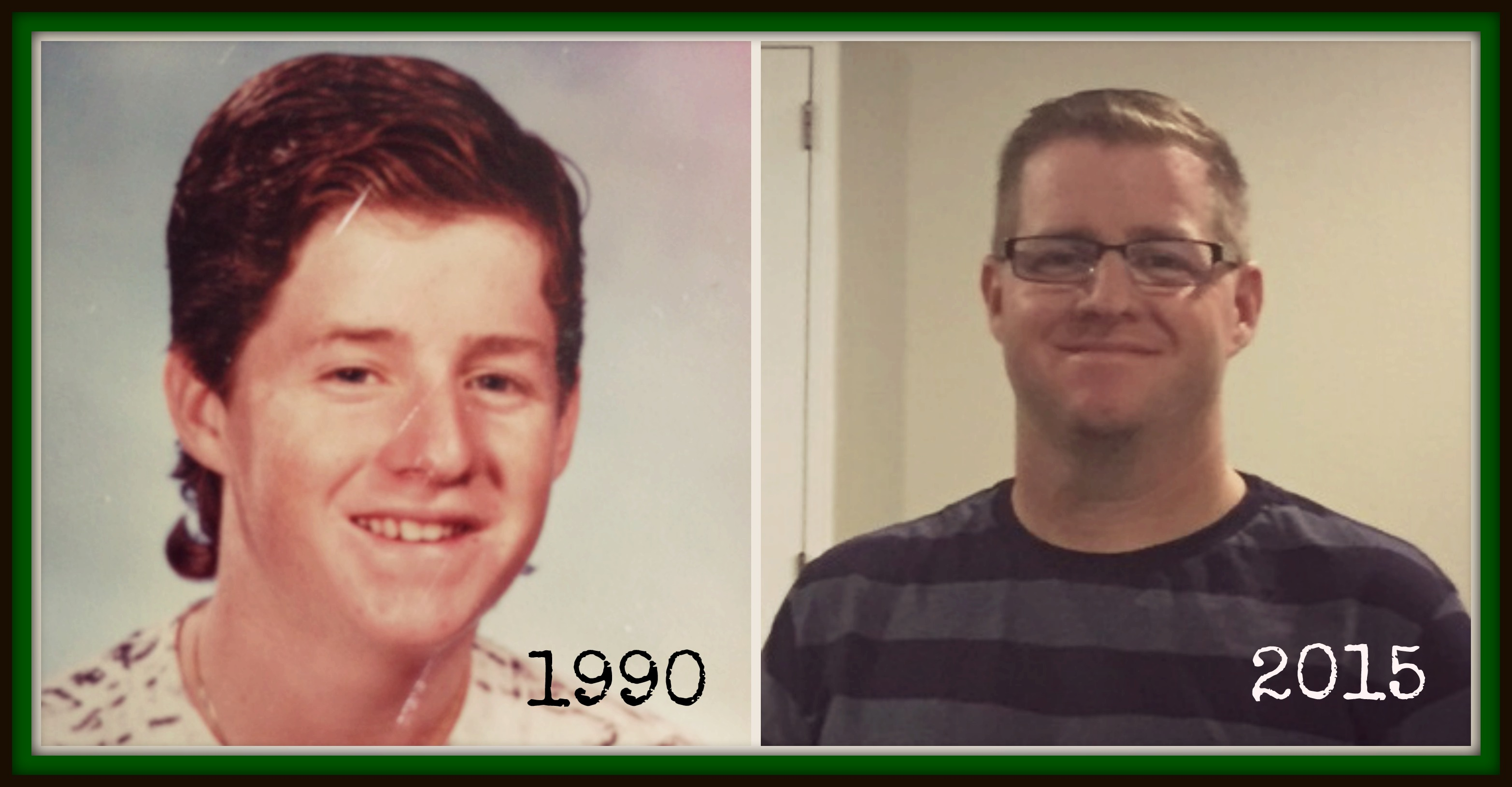 Chris Tanner then and now