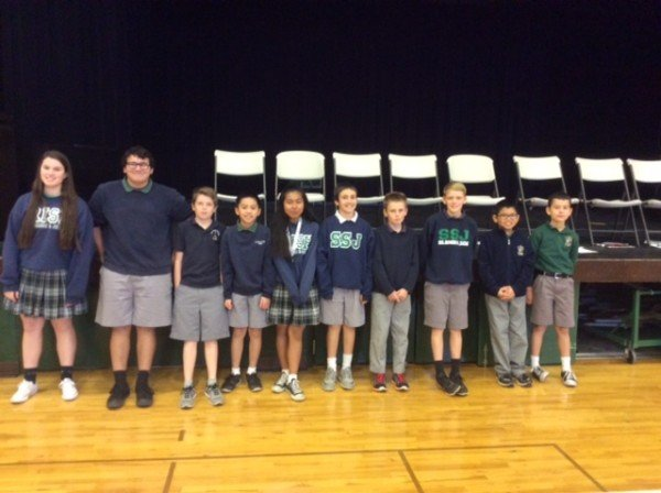Geography Bee Time at SSJ!!