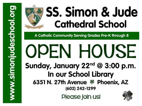open house for the bulletin